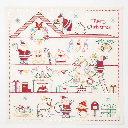 Christmas Stitch Cloth