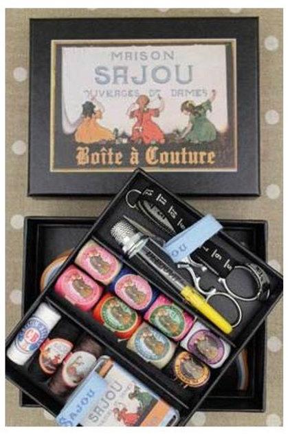 COMPLETE SEWING SET SMALL MODEL - SAJOU BLACK BOX
