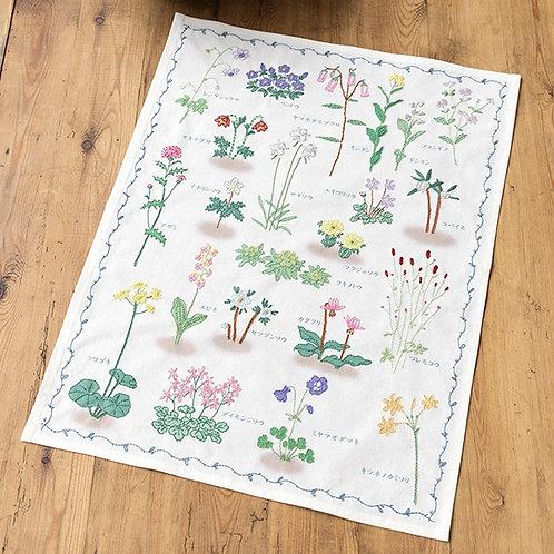 Stitch Cloth <Grass Picture>