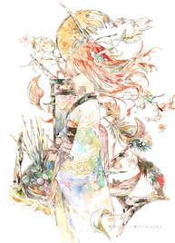 #和風タロット展-展示作品/SOLD