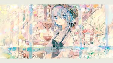 kazuka×sea-no / coffee shop (朝・昼・夜)