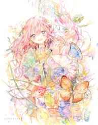 #春の音色-メインビジュアル、展示作品/SOLD