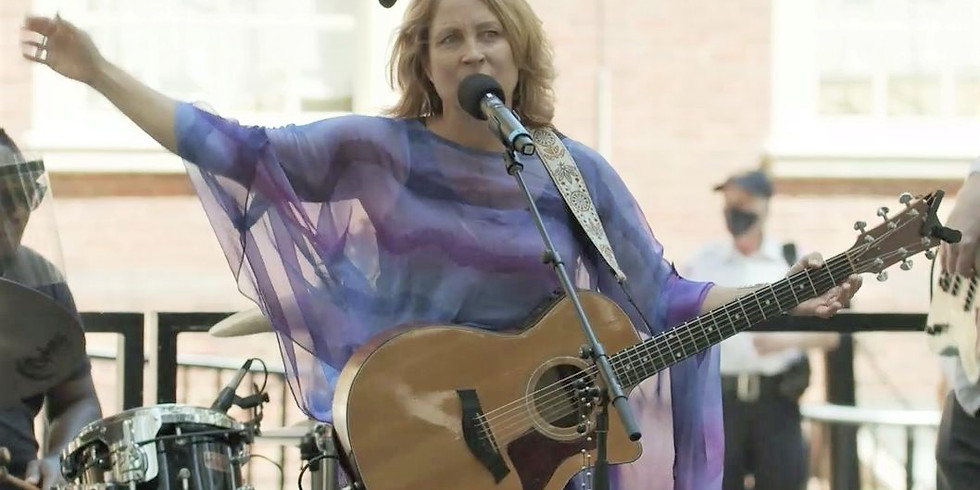 SHE Leads Road Rally: Return Celebration River Rock Performance