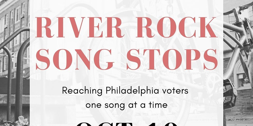 Cycletovote Rally Ride: River Rock Song Stops