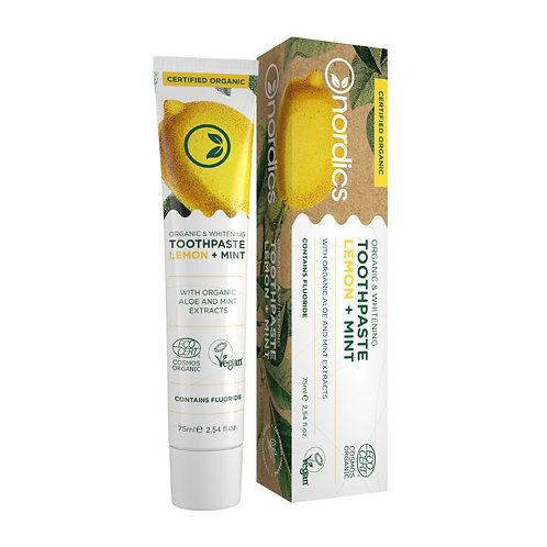 So Natural Toothpaste Adults Lemon Mint