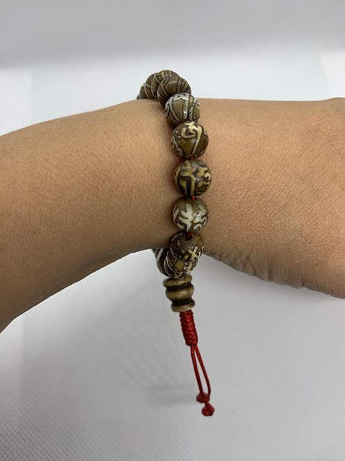 So Mala Armband Mantra Schelp
