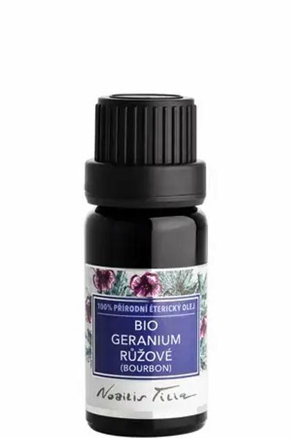 Éterický olej bio Geranium růžové (bourbon)