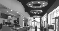 Cafe interior tenant improvement