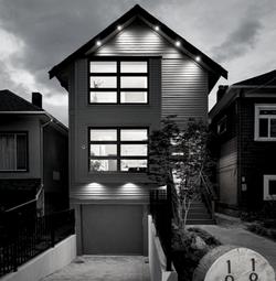 Vancouver narrow lot,modern design