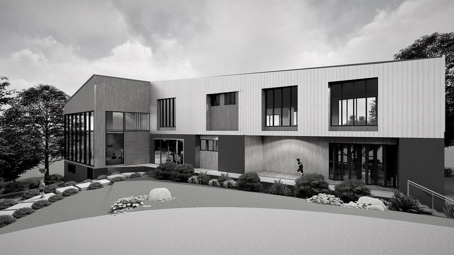 contemporary design, modern house