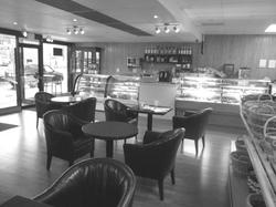 Cafe interior design TI permit