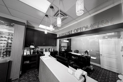 Optometry retail design build