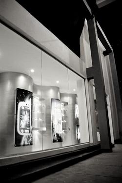 Cell phone retail design build