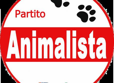 COMUNICATO STAMPA: Elezioni Regionali Campania, il Partito Animalista scopre il simbolo elettorale