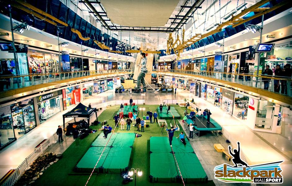 BouncingPark en Mall Sport