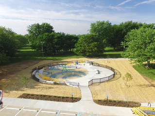 Abner Longley Splash Pad Project Substantial Completion