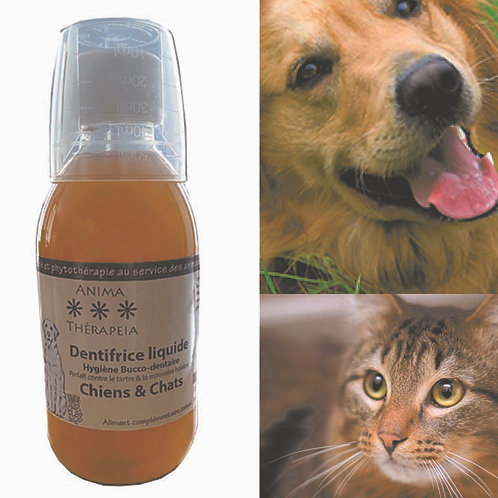 Dentifrice chiens, chats & petits animaux