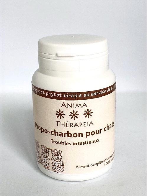 Propolis/ charbon végétal Chats