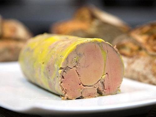 Foie gras de canard à la cannelle et baies roses