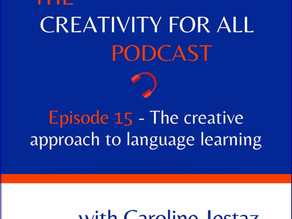 Episode 15. The creative approach to language learning