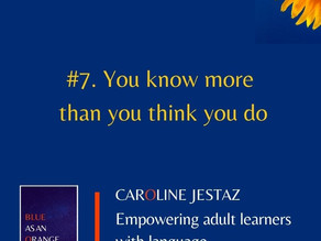 #7. You know more than you think you do