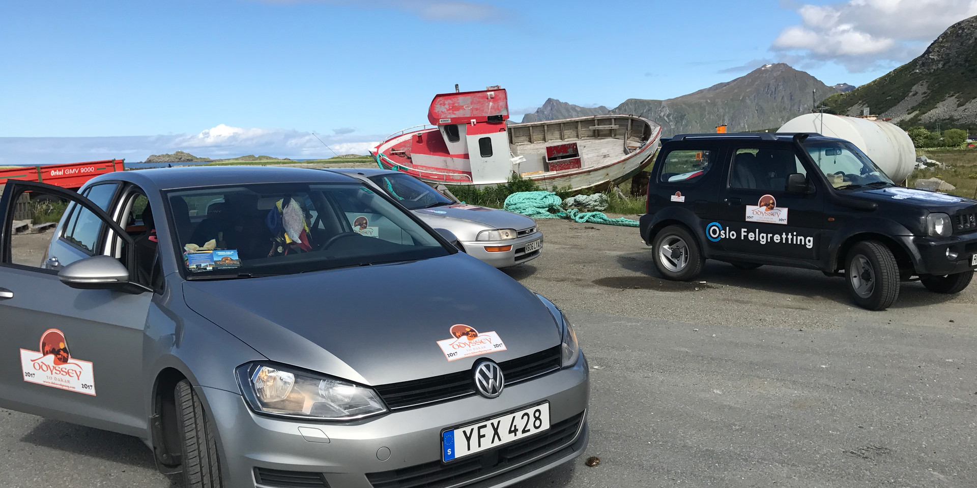 Rally in a Rental, Norway