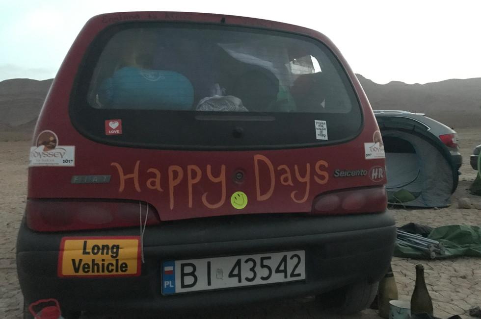 Fiat Scienco in Morocco