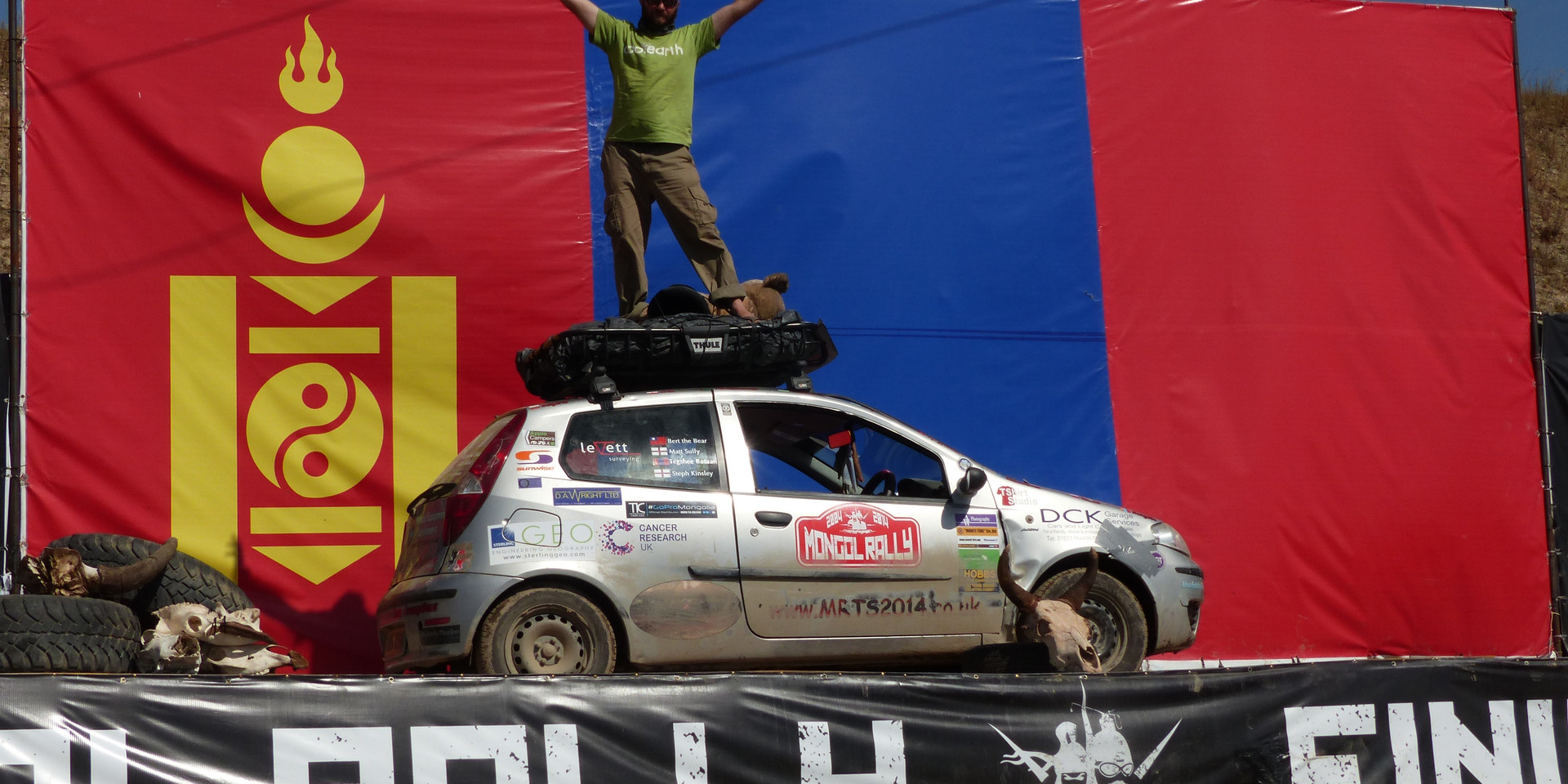 Finish in Mongolia