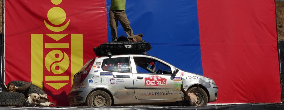 Finish in Mongolia