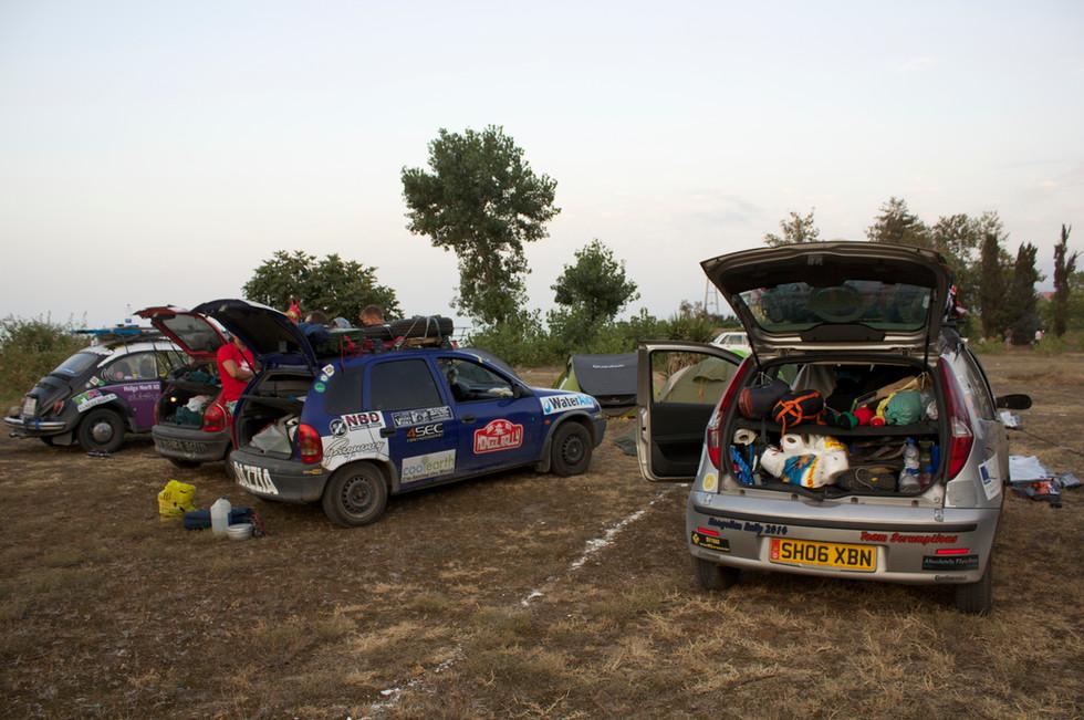 Camping in Iran