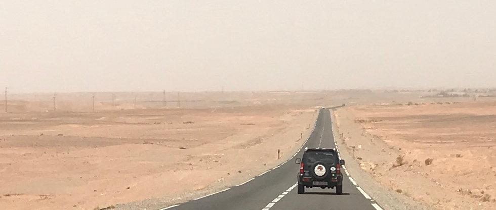 Road through The Sahara
