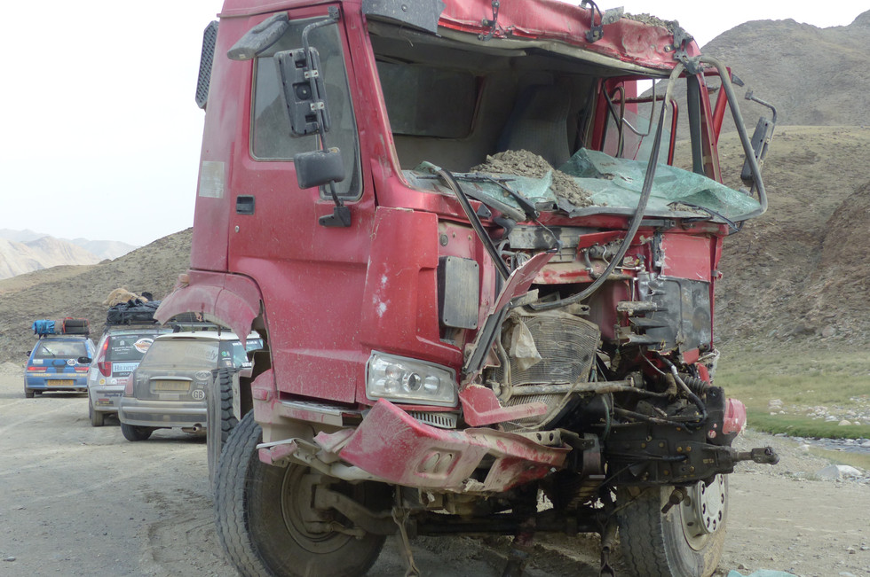 Truck in Mongolia