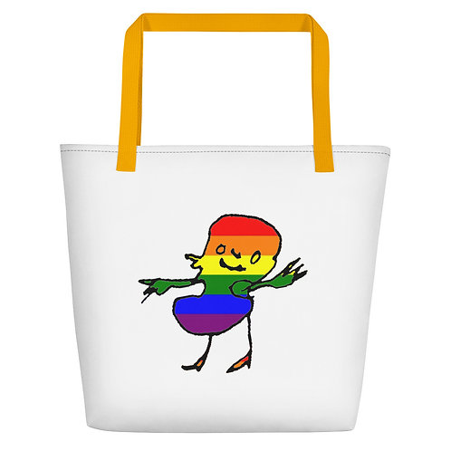 Beach Bag - Economic Rainbow Edition