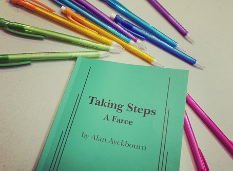 """REVIEW - """"Taking Steps"""""""