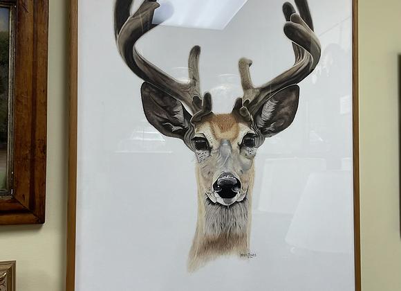 Original Watercolor by Mitch Jones