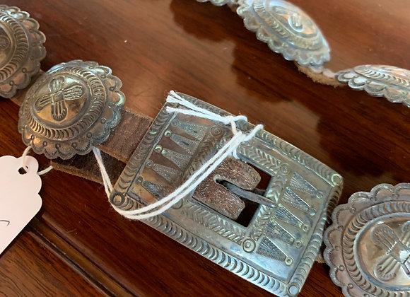 Conco belt Antique Silver