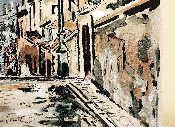 Maurice Utrillo Screenplate