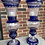 Thumbnail: glass vase / pair