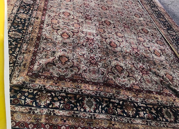 13' x 20' All wool, hand knotted oriental