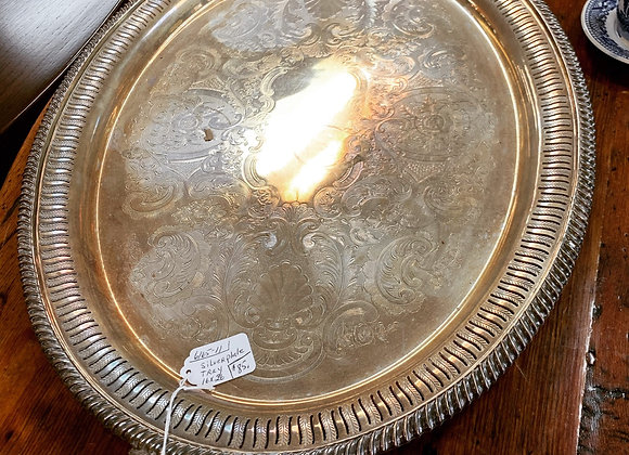 Silverplate tray