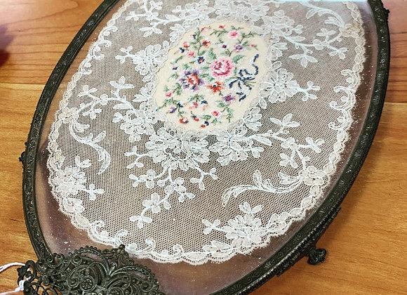 Antique vanity tray