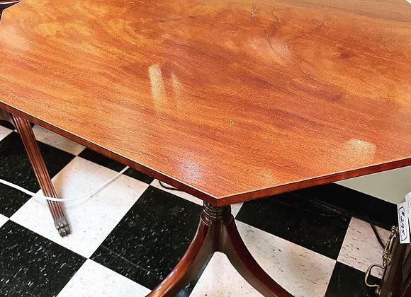 Antique octagonal table