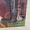 Thumbnail: Antique hand-painted silk