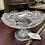 Thumbnail: Antique cut glass pedestal candy dish