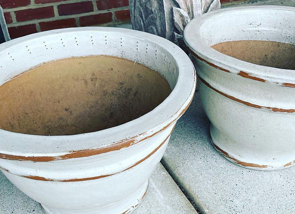 Outdoor clay pots (2)