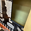 Thumbnail: Black and metal cabinet on stand.
