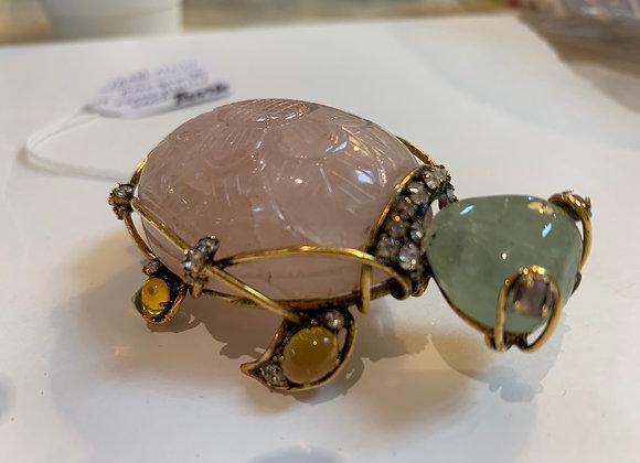 Iradj MOINI turtle pin