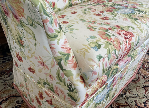 Floral Chintz Settee
