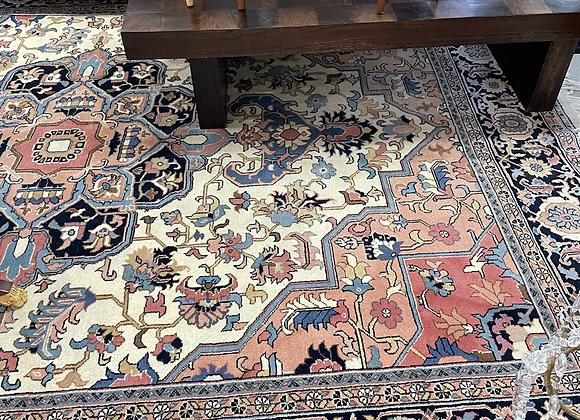 Wool handmade rug