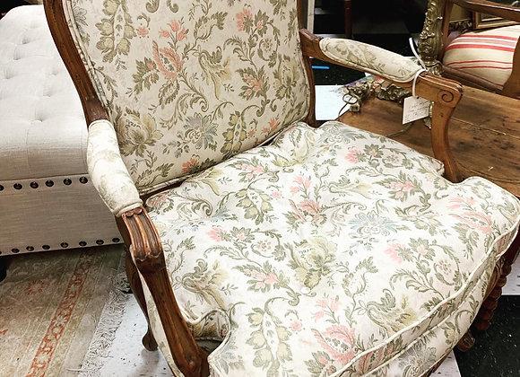 Vintage bergère chair